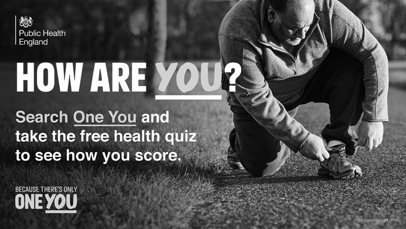 How are you? Search One You and take the free health quiz to see how you score.